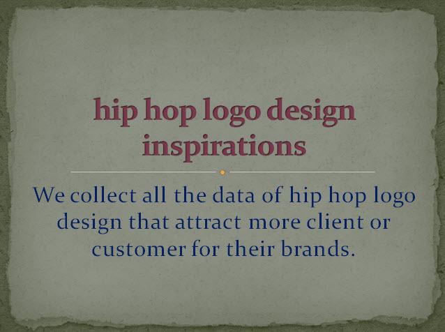 Hip hop logo design
