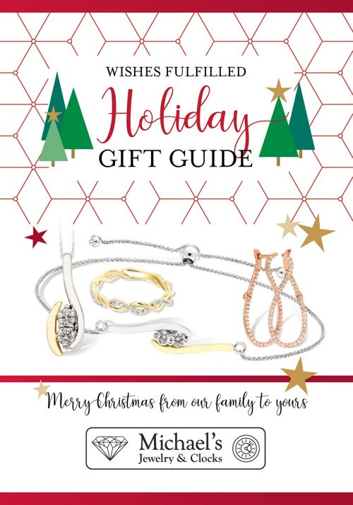Michael's Jewelry & Clocks Holiday Gift Guide 2017