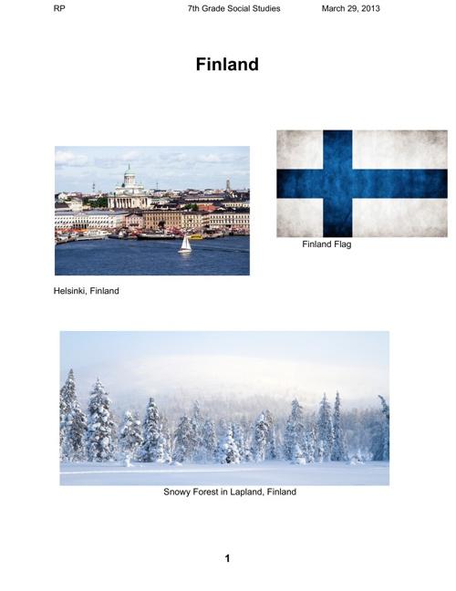 FinlandProject