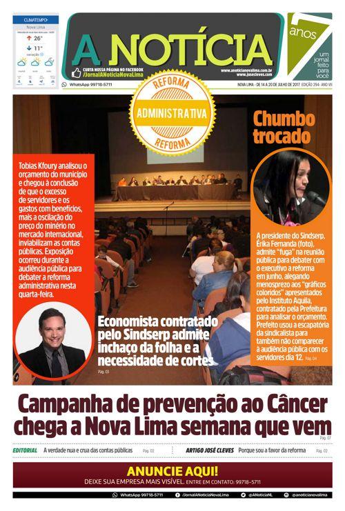 Jornal A Notícia - Edição 294