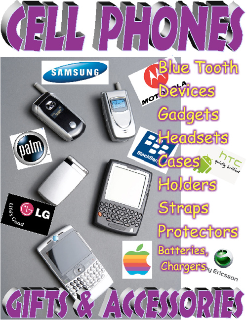 CELL PHONES Accessories & Gadgets