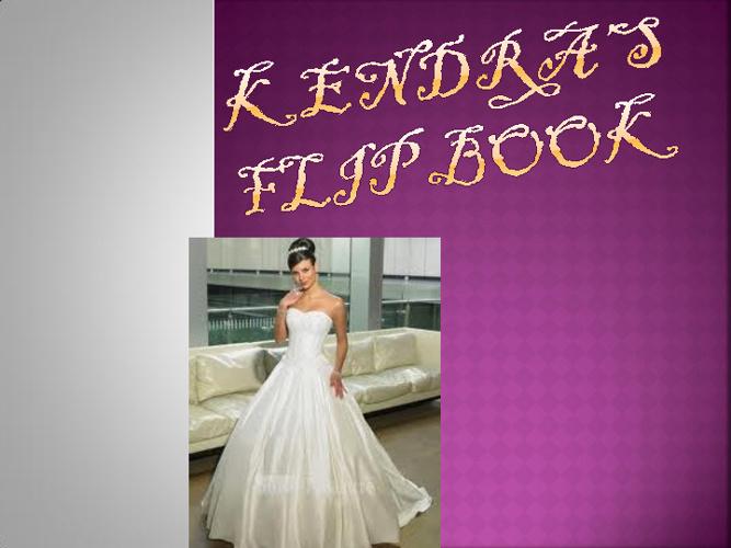 Kendra's Fashion Flip Book