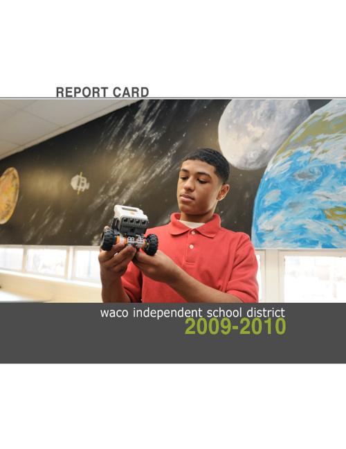 WISD Report Card 2009-2010