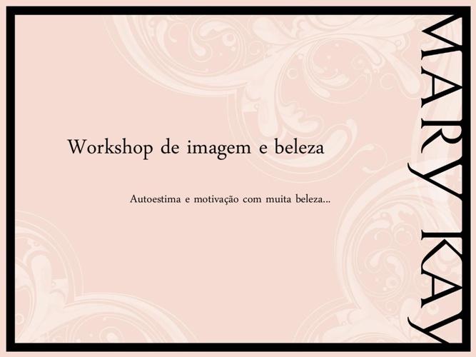 Apresentação de Consultoria de Imagem e Beleza Corporativa.