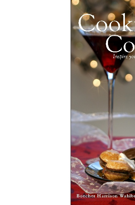 Cookies and Cocktails Holiday Cookbook - Preview