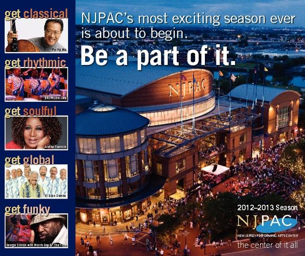 NJPAC 2012-13 Season Brochure