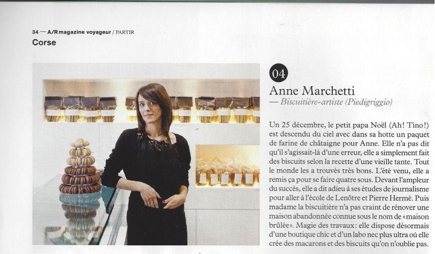 AR magazine 2013 (n°18) - Anne Marchetti, biscuitière artiste