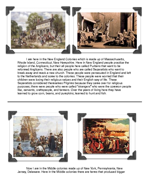 History Flip Book