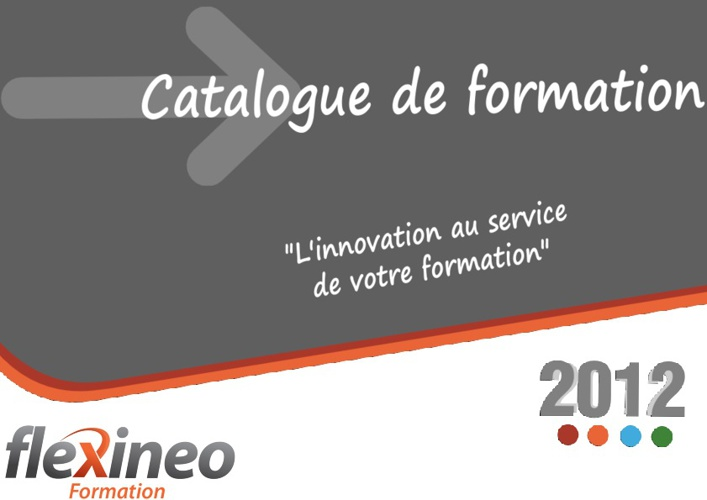 Catalogue de formation 2012