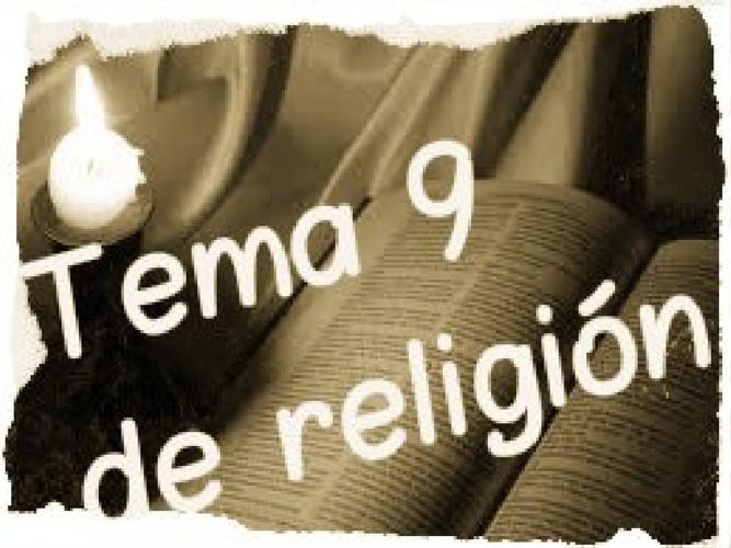 Tema 9 de religión