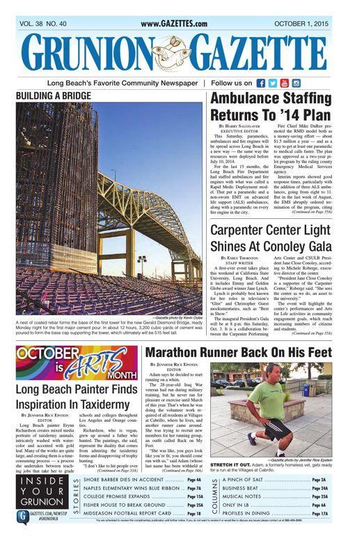 Grunion Gazette | October 1, 2015