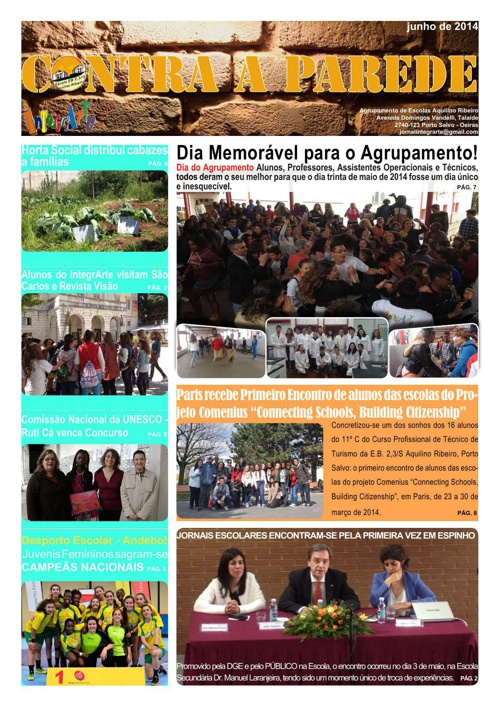 Jornal Contra a Parede - junho 2014