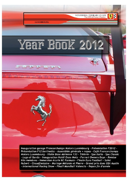 SFCL YearBook 2012