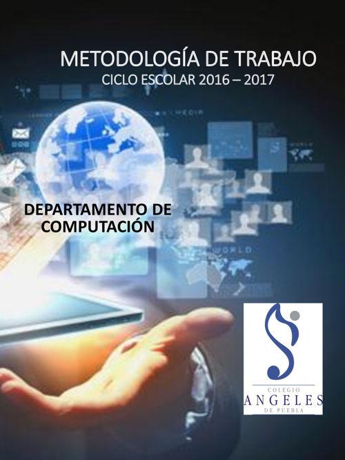 METODOLOGÍA DE TRABAJO COMPUTACION