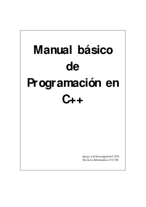 manual basico de programacion