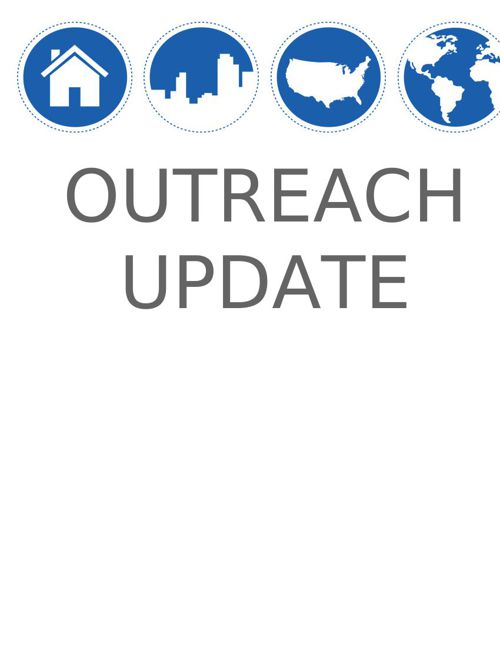 Outreach Update Spring 2015