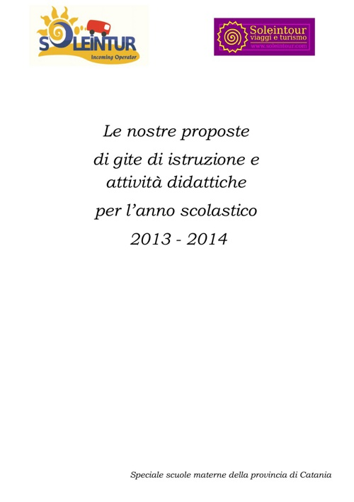 Soleintur Materne 2014