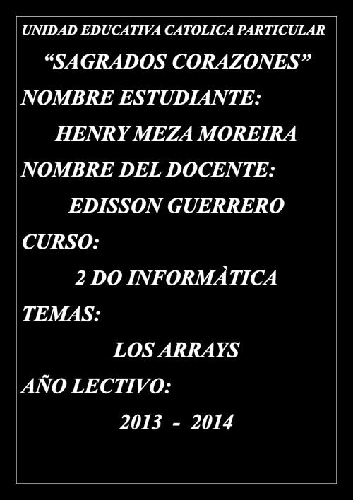EL ARAY
