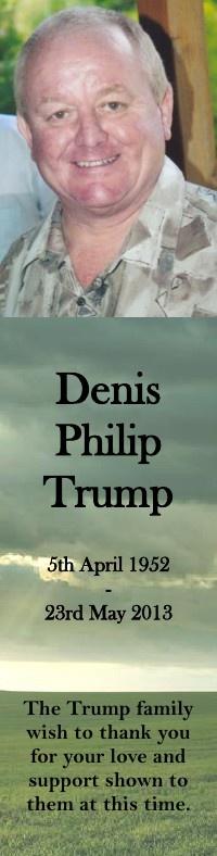 Bookmark for Denis Trump