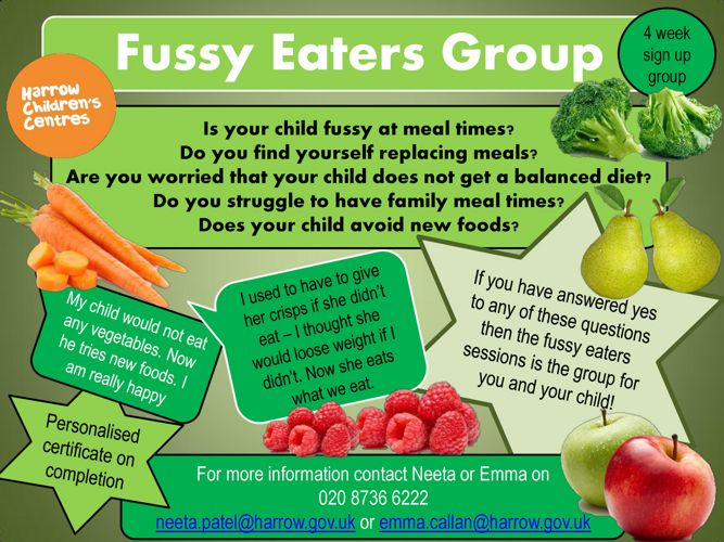 Fussy Eaters march 17