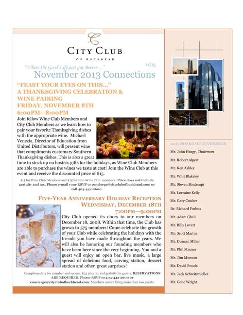 CCB November 2013