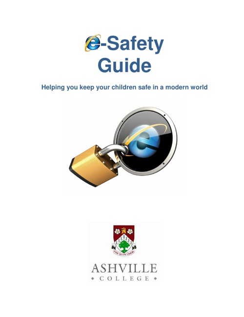 e-safety guide