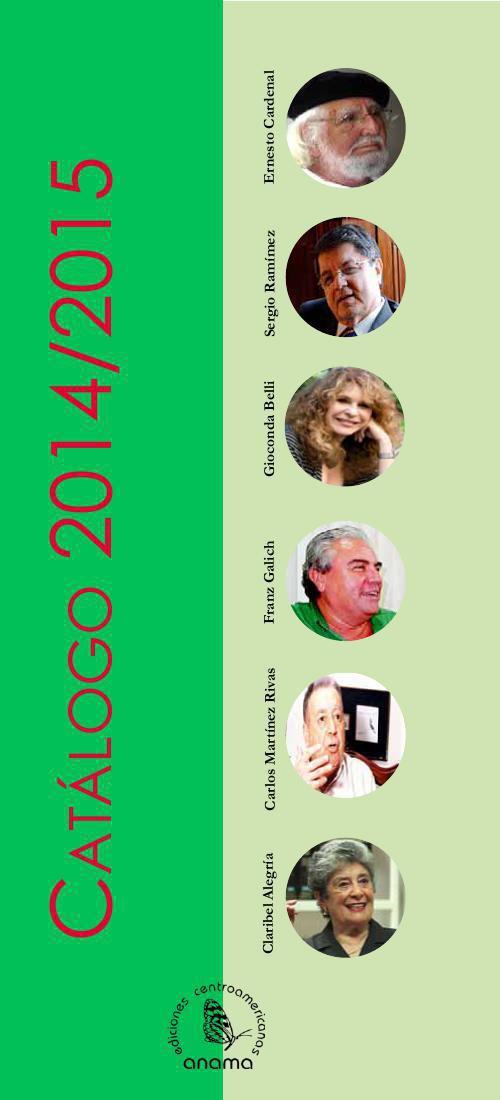 ANAMA Catálogo 2014-2015