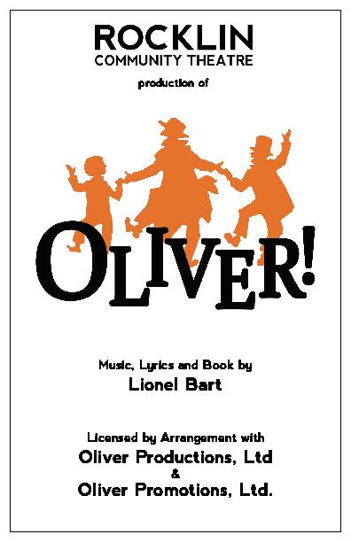 OLIVER! Program Proof 1