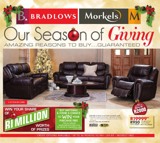 Bradlows Morkels - Our Season of Giving