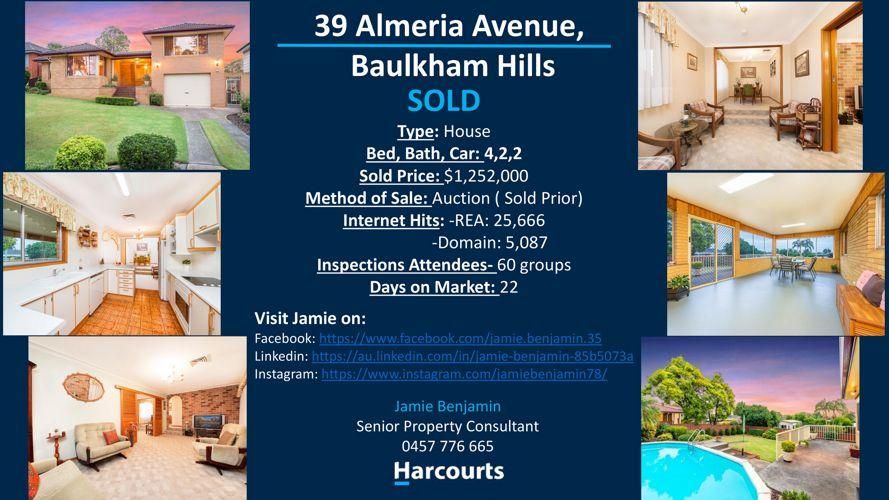 39 Almeria avenue, Baulkham Hills