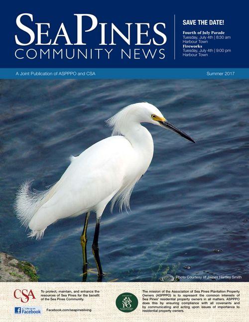 Summer 2017 Sea Pines Newsletter