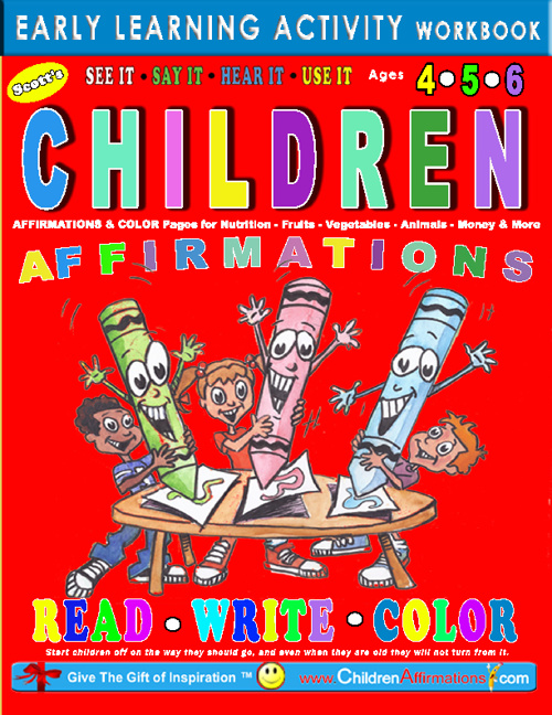 Copy of CHILDREN AFFIRMATIONS  Early Learning Activity Workbook