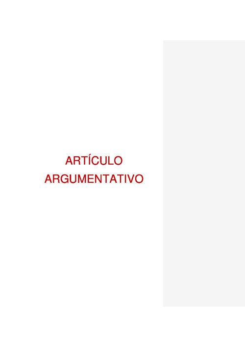 Blog Artículo argumentativo Flipsnack