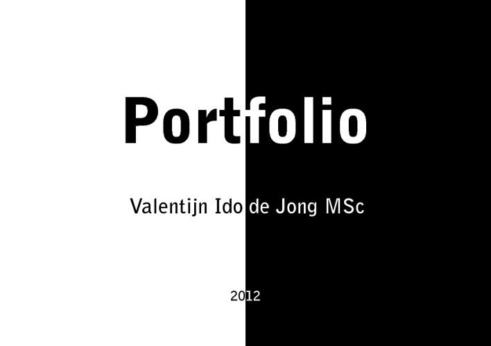 Portfolio Valentijn Ido de Jong