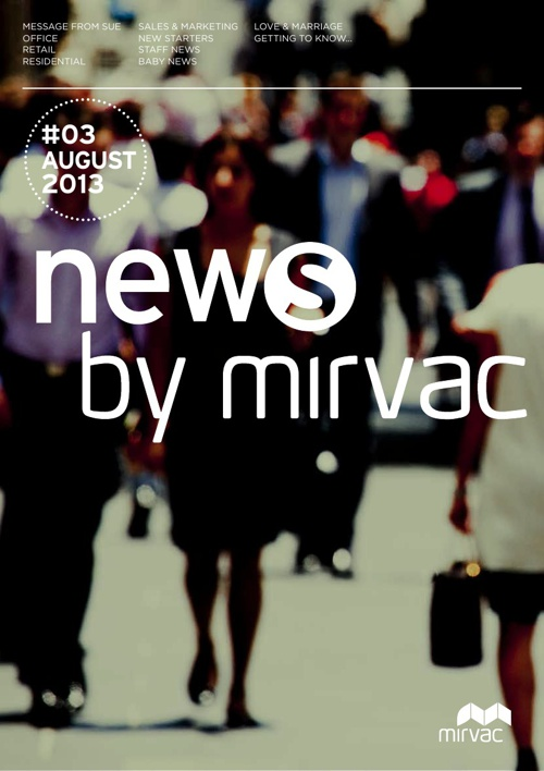Mirvac National Newsletter August 2013