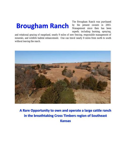 Brougham Ranch Book