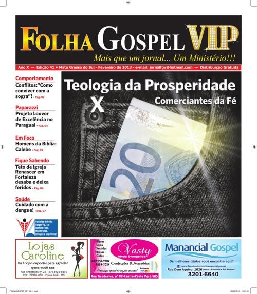 FOLHA GOSPEL VIP