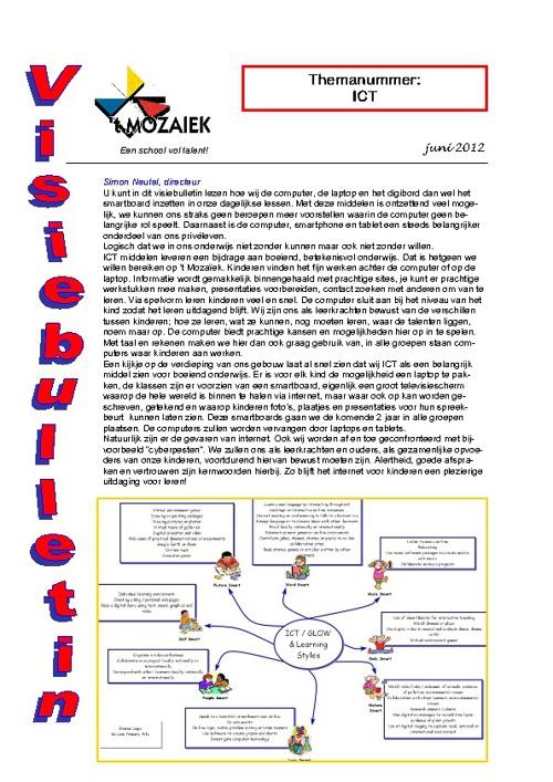 visiebulletin juni 2012