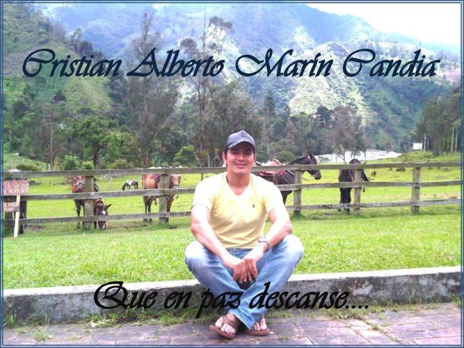 Invitación para amigos de Cristian Marin