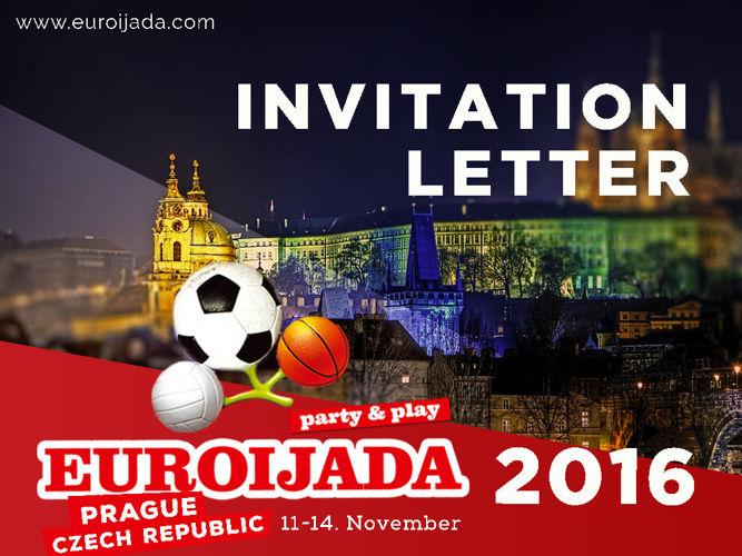 Invitation Letter for EUROIJADA 2016