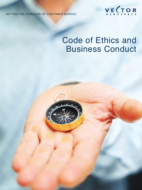 Vector Aerospace - Code of Ethics & Conducts