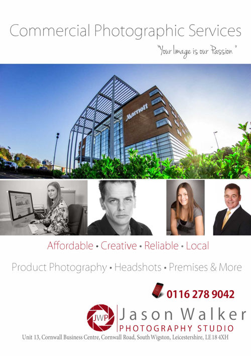 Commercial Photographic Services Brochure 2016