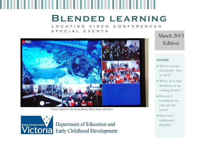 Vic. Virtual Learning Project Special Events March Edition