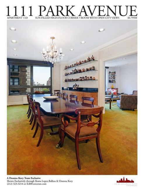 1111 Park Avenue, Apartment 11D