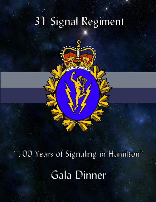 "31 Signal Regiment ""100 Years of Signaling in Hamilton"""