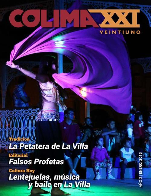 Revista Colima XXI - Enero 2015