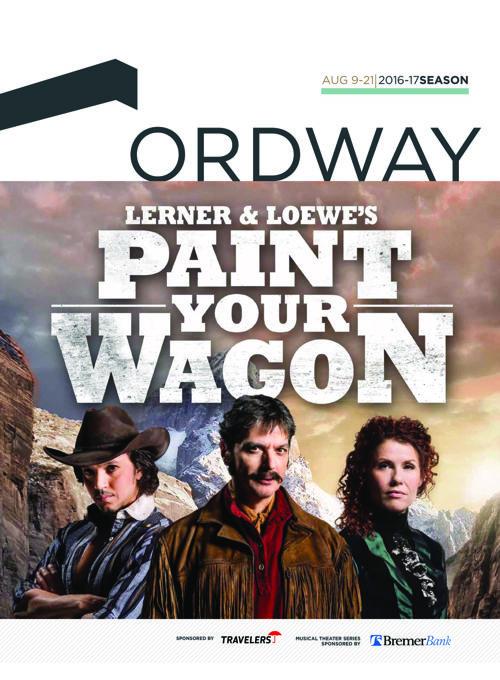 Paint Your Wagon Program | 2016-17 Ordway Season