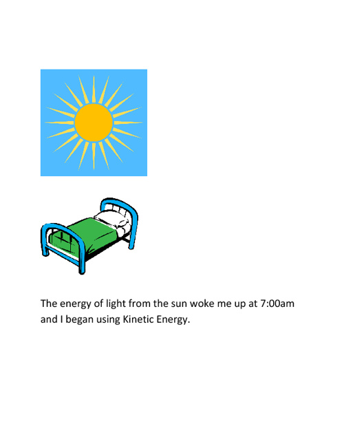 The Day in the Life of Keith Stucey Using Forms of Energy