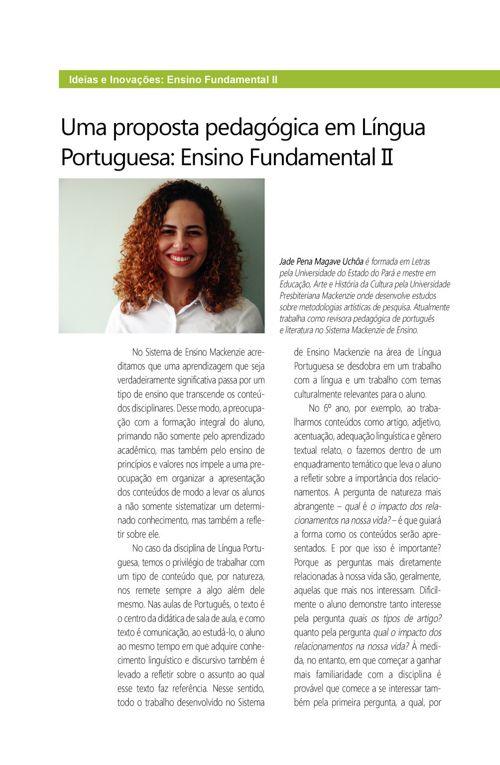 Uma proposta pedagogica Fund-II