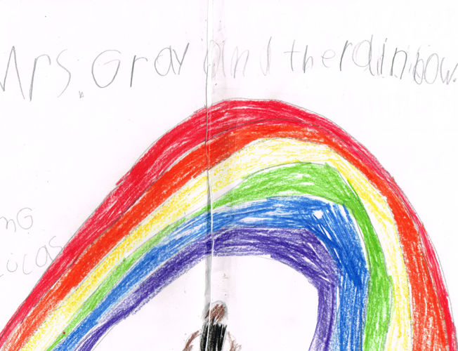 Mrs Gray and the Rainbow